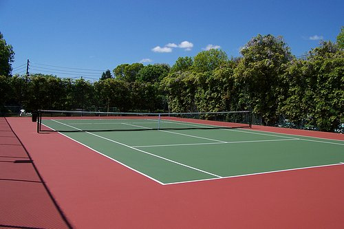 Our New Tennis Court